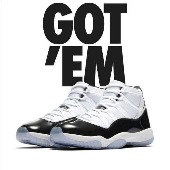 Size 1 Jordan 218 Concord 11 Ordered